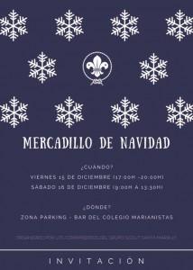 Invitación Mercadillo Navideño compas