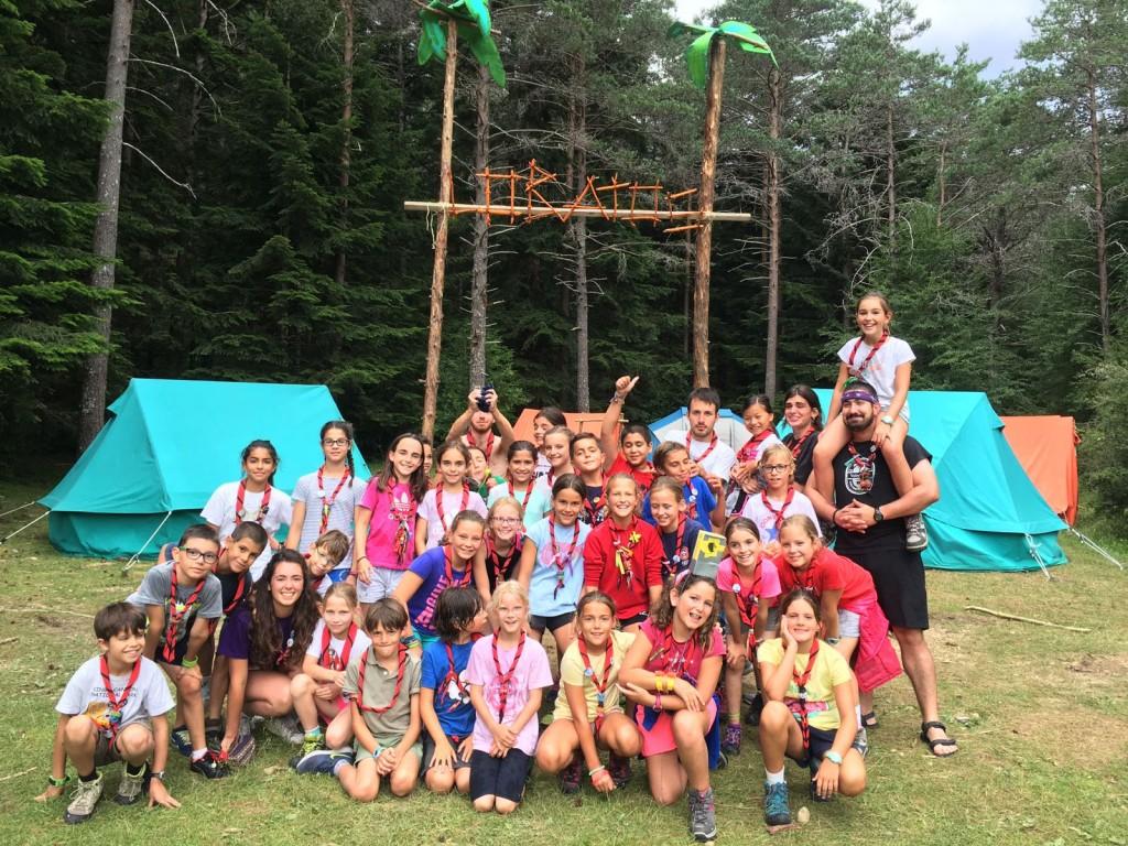 Campamento lobatos