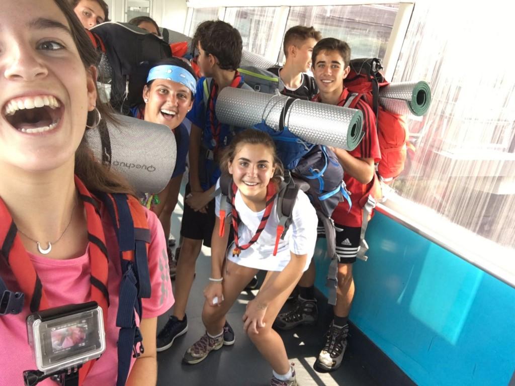 Pioneros en el Camino de Santiago