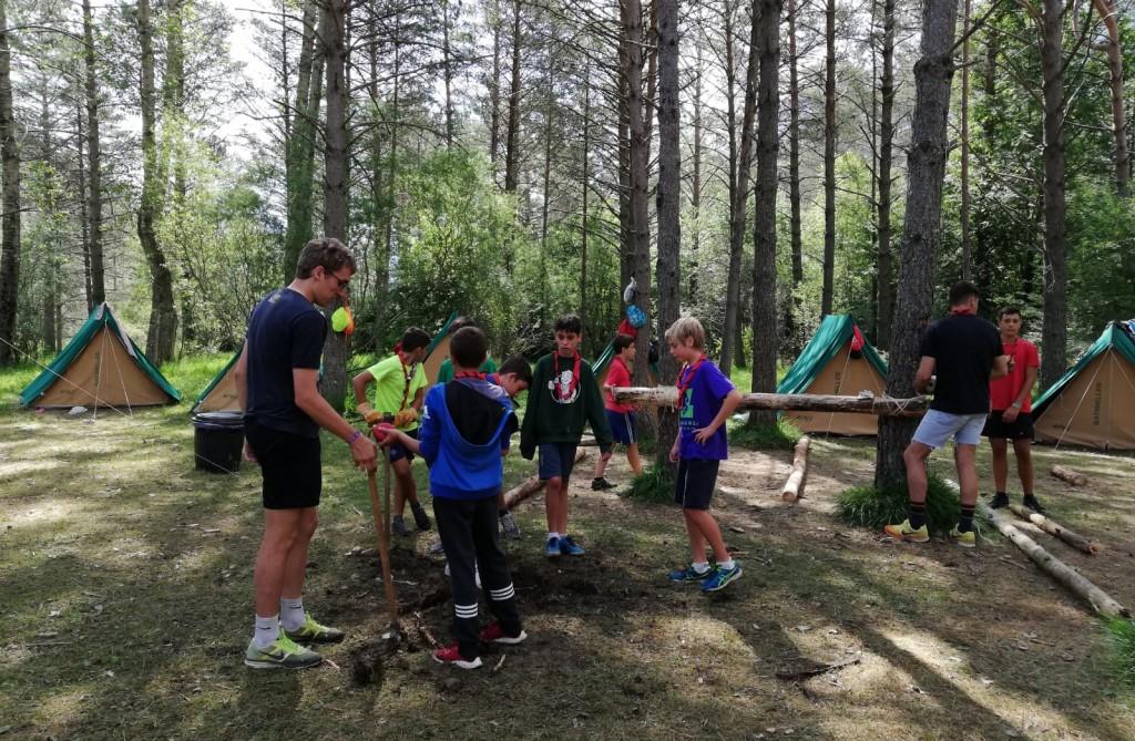 Dia 3 - Scouts en Pineta
